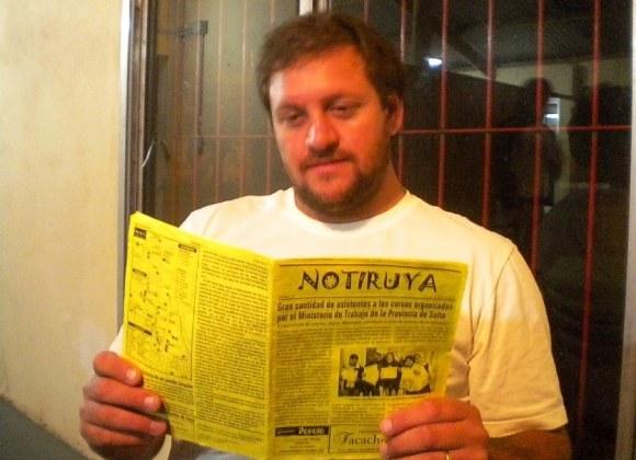 Franco Morán, con NOTIRUYA