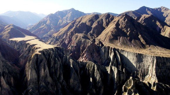 Fantásticos cerros de Iruya. (Foto: Christian Vitry)