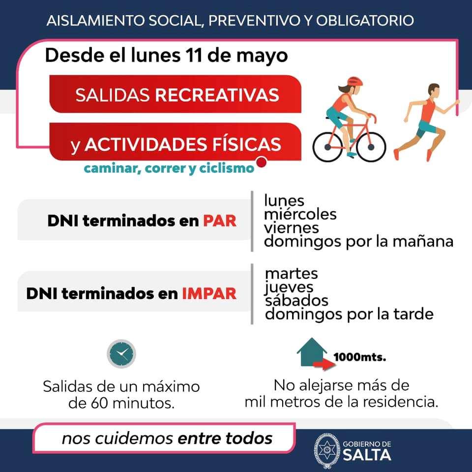 Salidas recreativas - Gobierno de Salta