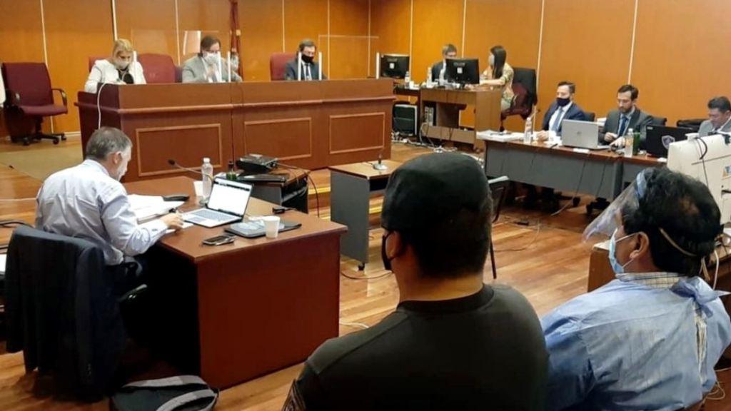 Lectura de alegatos en el juicio por el crimen del turista francés.