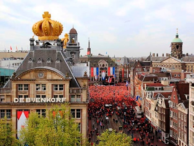 Holanda de fiesta