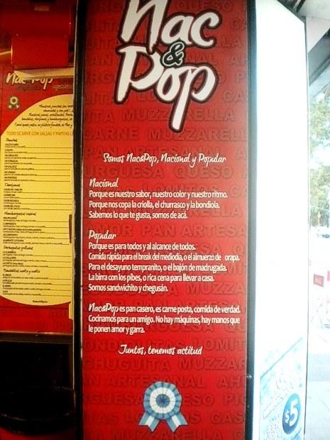 La propuesta de Nac&Pop (Nacional y Popular)