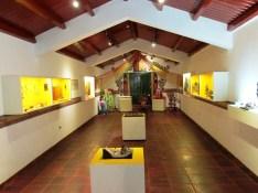 Vista de parte del museo