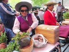Verduras, papas andinas. (Foto: Pablo Harvey).