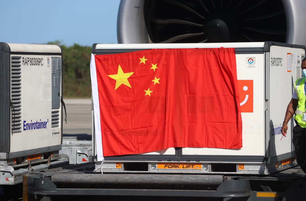 Hoy llegan al país desde China 2 millones de vacunas Sinovac