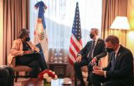 Presidente Abinader sostiene encuentro bilateral con delegación de Estados Unidos