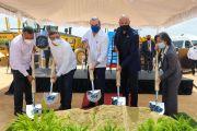 Presidente Abinader asiste primer palazo para Construcción Centro de Educación y Formación Marlins La Florida