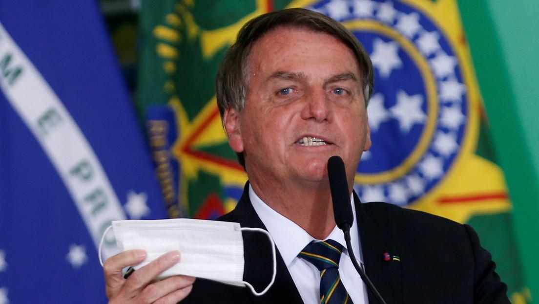 YouTube elimina videos de Bolsonaro por desinformación sobre el covid-19