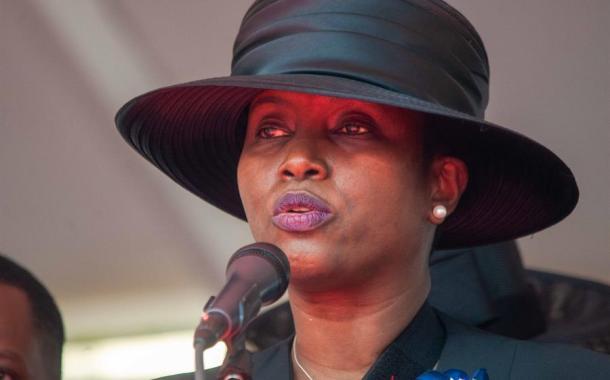 La viuda del presidente haitiano Jovenel Moïse promete luchar por los más débiles