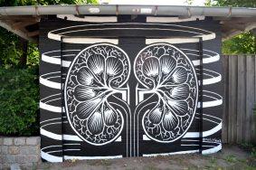 Vægmaleri Roskilde Sygehus