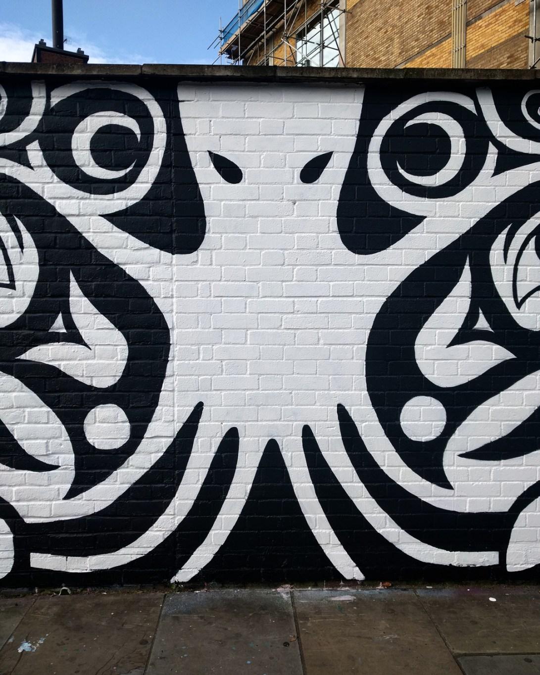 Vægmaleri, Hanbury Street London