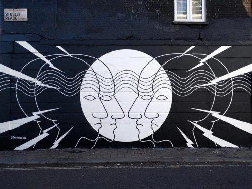 Mural Camden London Street Art