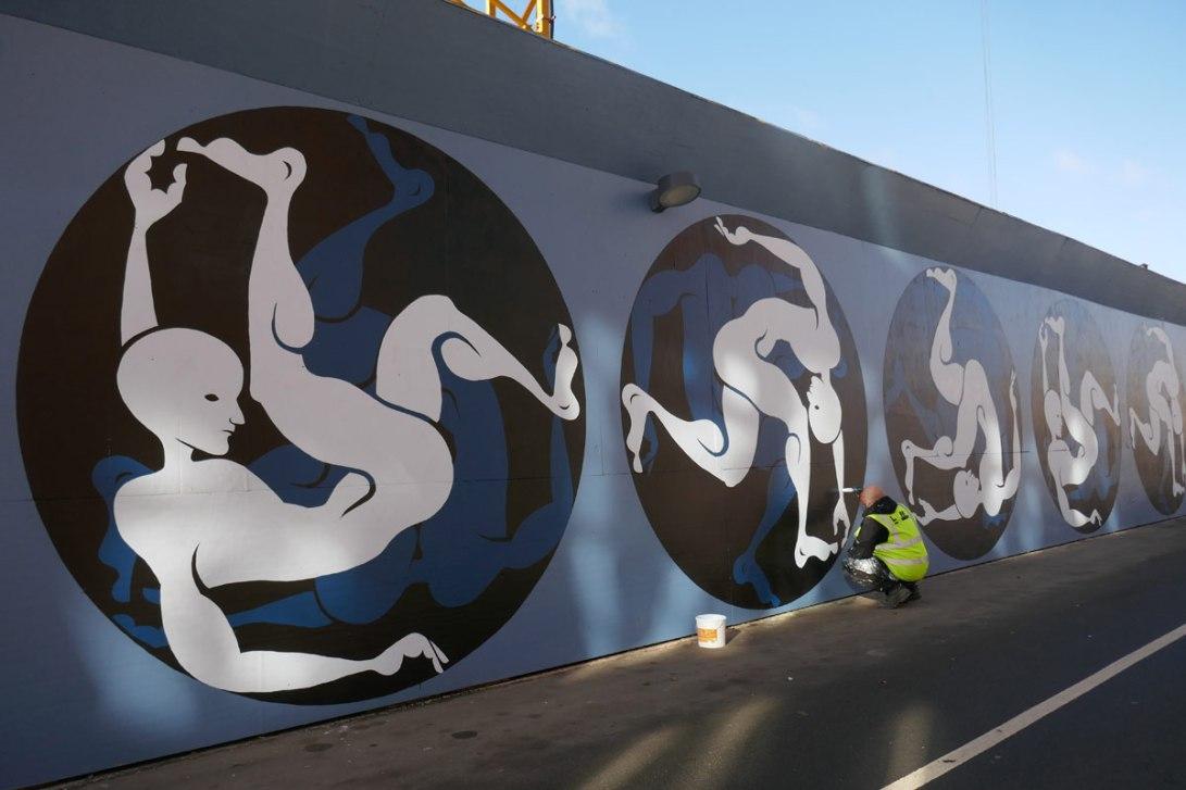 Street art Valby