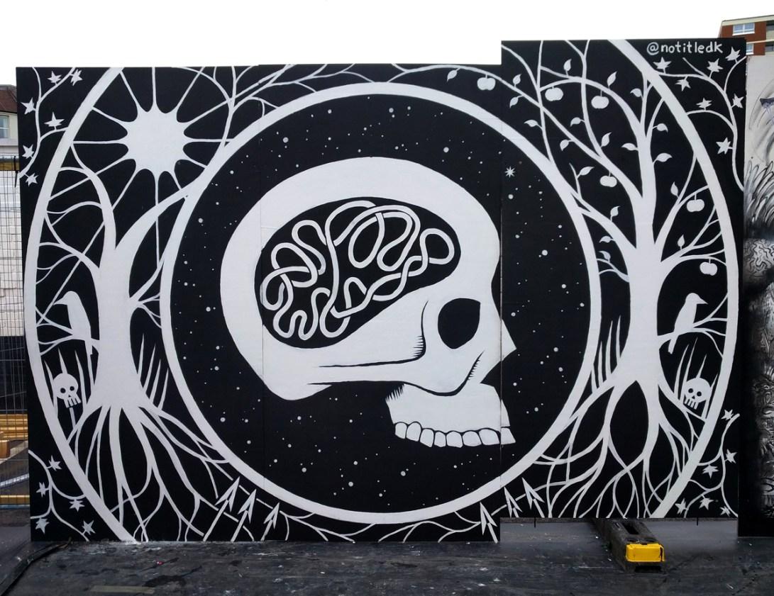 Vægmaleri Upfest Bristol