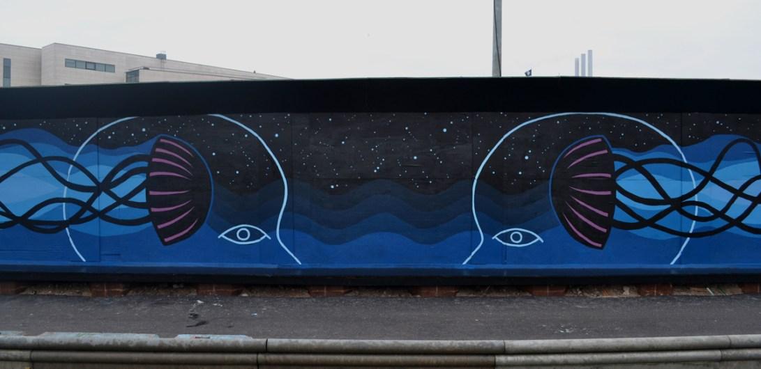 Vægmaleri, Nordhavn. København