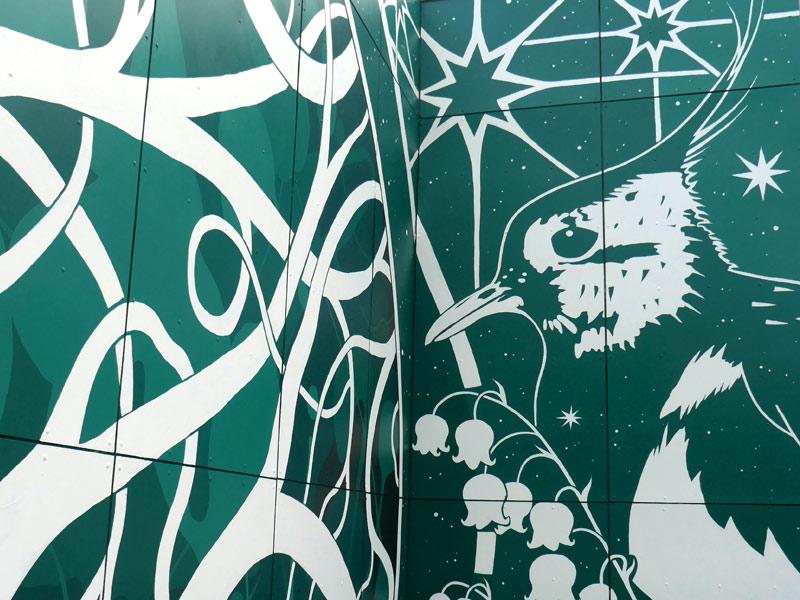 Vægmalerier Roskilde Kongrescenter