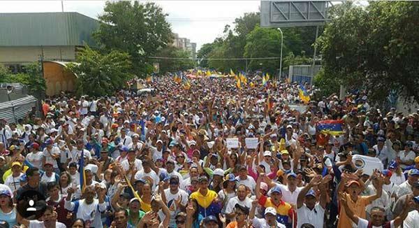 Lara se suma a la protesta nacional de este miércoles #19A |Foto: Twitter