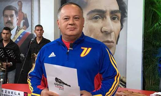 Diosdado Cabello | Foto: @ConElMazoDando
