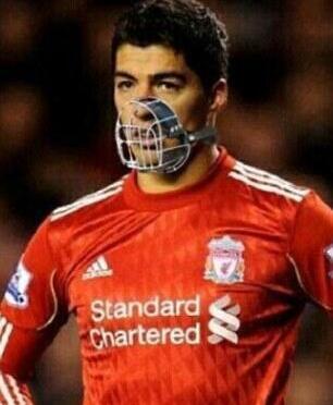 Suarez gehört in einen Käfig