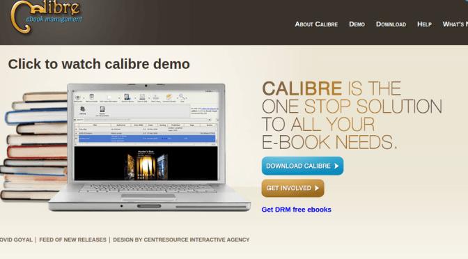 Calibre ist ein Reader, Converter und Verwaltungstool für eBooks