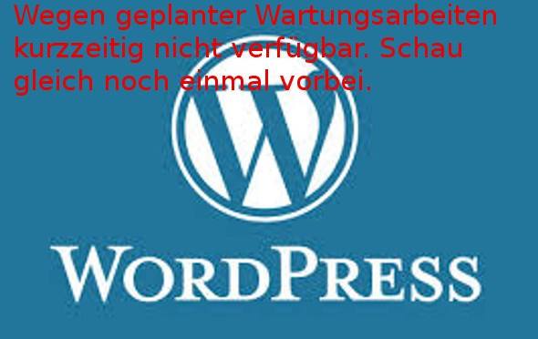 WordPress: Briefly unavailable for scheduled maintenance. Check back in a minute.