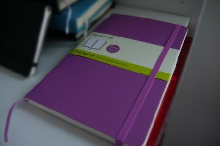 MOLESKINE Notizbuch A5 blanko Test Erfahrung