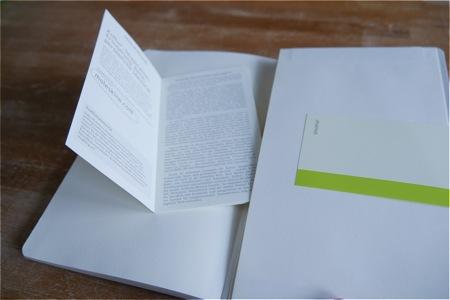 Moleskine Notizbuch blanko Test