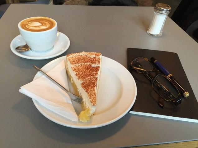 Notizen im Café Milch Foto: nw2015