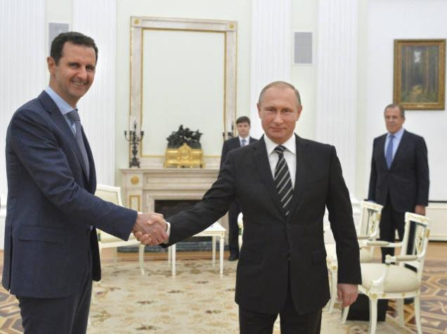 botta e risposta Usa Russia per visita di assad a mosca