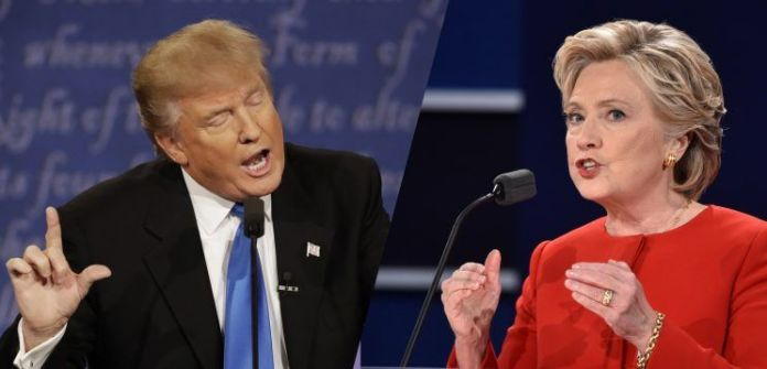 Donald Trump e Hillary Clinton schivano la politica estera nel primo dibattito