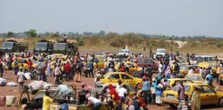 repubblica centrafricana migliaia i sfollati