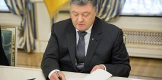 l presidente ucraino Poroshenko vieta ingresso ai russi