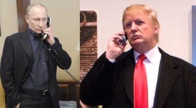 Trump Putin il primo colloquio telefonico