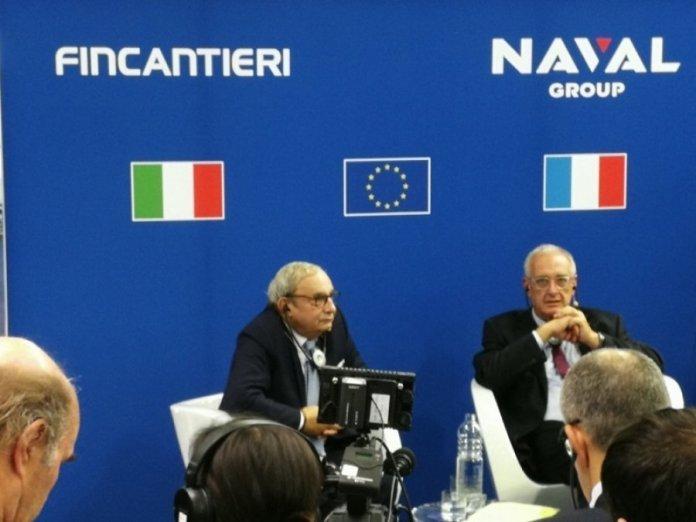 Accordo Fincantieri Naval Group per la cooperazione navale militare