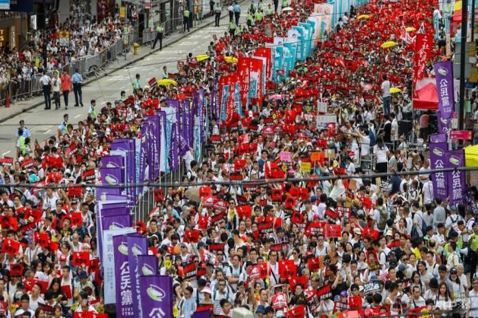 Cosa succede a Hong Kong