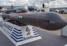 India testa missile Brahmos