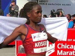 Brigid Kosgei ottiene il primato mondiale sulla maratona femminile