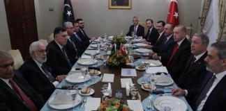 Accordo tra Libia e Tuchia su confini marittimi e sicurezza