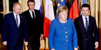 A Parigi prove d'intesa tra Putin e Zelensky sul Donbass