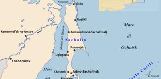 Sachalin l'isola che rischia l'isolamento