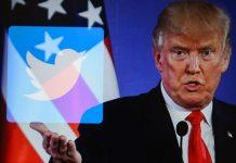 I social contro Trump