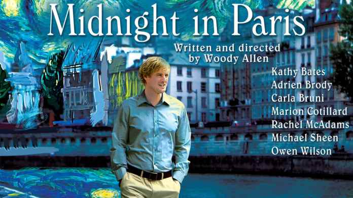 La locandina di Midnight in Paris