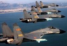 Incursione di aerei militari cinesi vicino a Taiwan