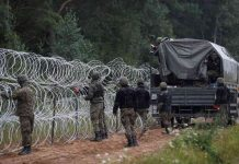 Poland and Belarus border tension
