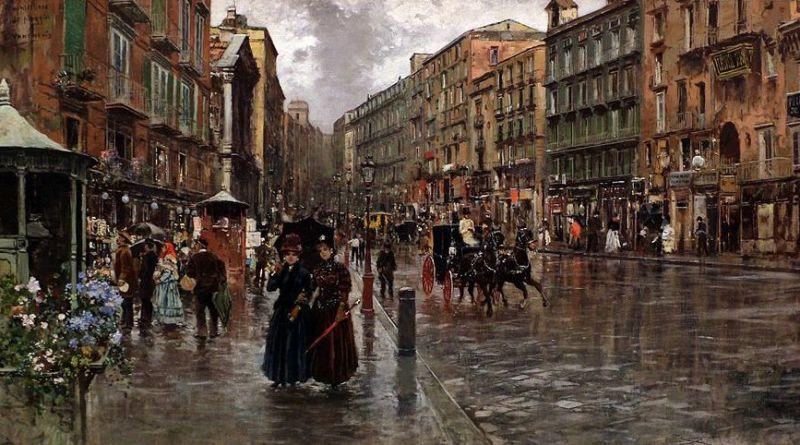La pioggia nell'Arte: 5 opere sotto cieli piovosi