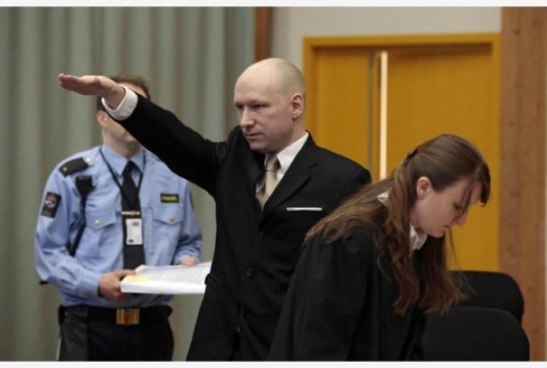 Anders Breivik, feccia nazista