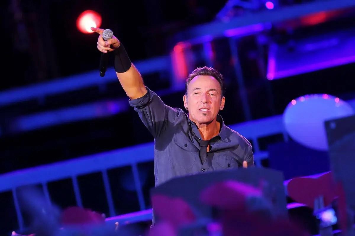 Bruce Springsteen ha suonato a Ground Zero l'11 settembre