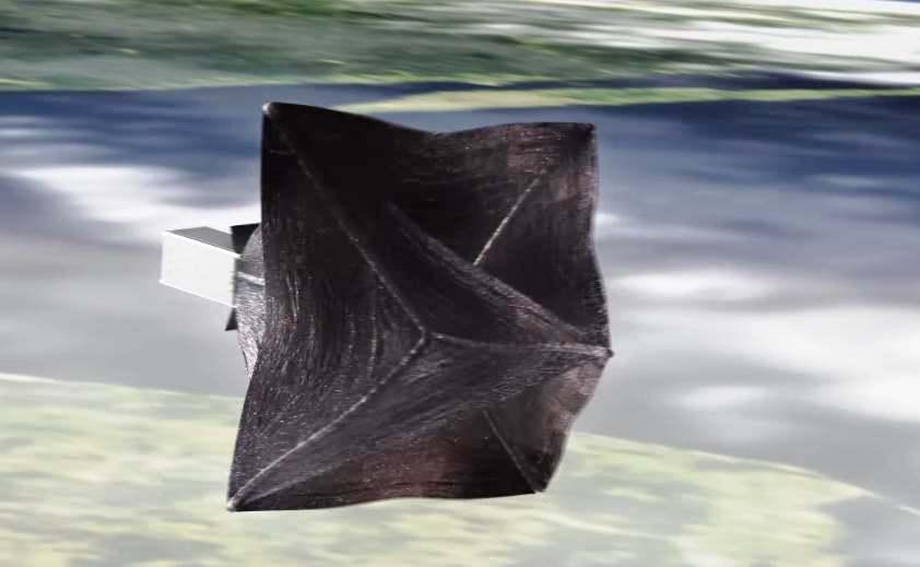 RemoveDEBRIS cattura il primo rifiuto spaziale orbitante intorno alla Terra