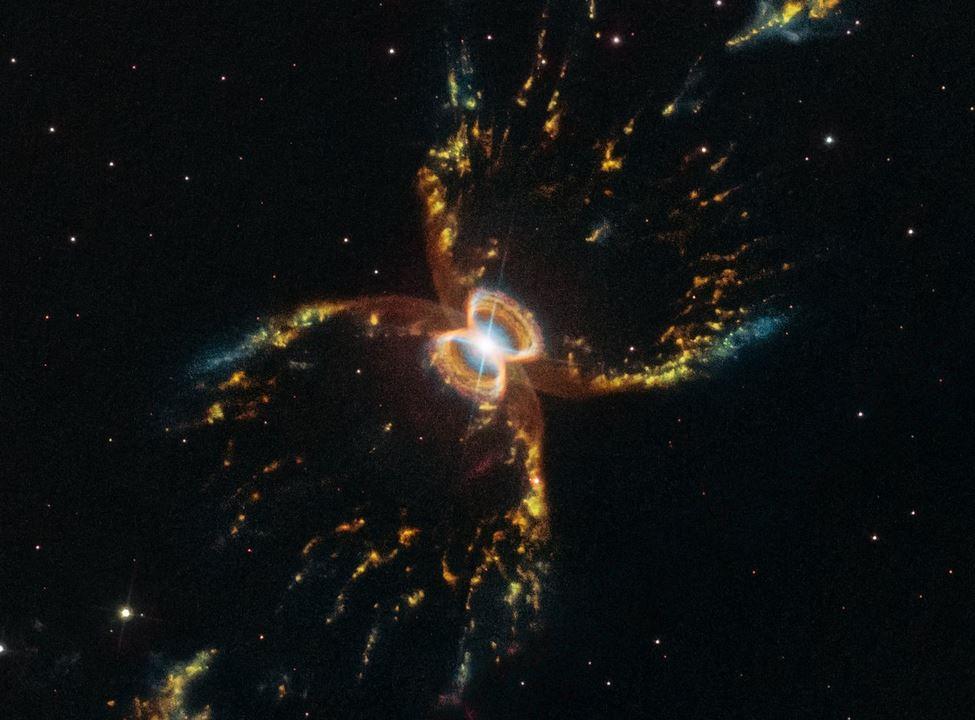 Hubble cattura nuova immagine della Nebulosa del Granchio Meridionale, un granchio cosmico distante 7000 anni luce