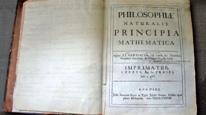 Raro manoscritto di Isaac Newton del XVII secolo trovato in biblioteca della Corsica